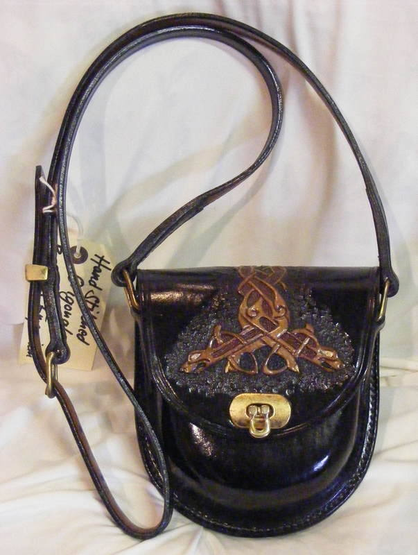 LEATHER HAND BAG 17