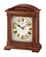 Seiko Wooden Arch Topped Mantel Clock