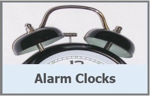 <!-- 020 -->Alarm Clocks