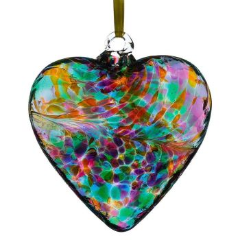 12cm Multi Colour Friendship Heart