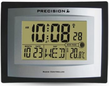 Large Digit Radio Controlled Wall or Desk Clock