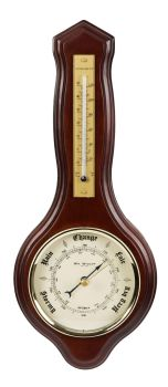 Small Banjo Barometer by Wm Widdop