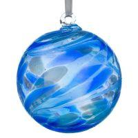 10cm Sapphire Blue Friendship Ball
