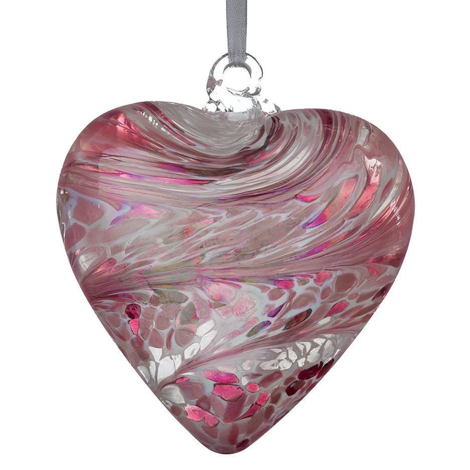 12cm Pastel Pink Friendship Heart