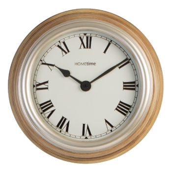Large Ribbed Case Wall Clock