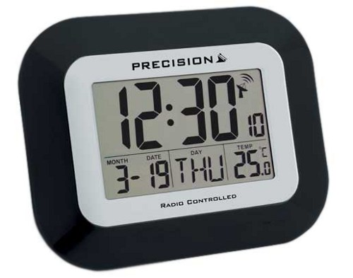 Precision prec0097 Radio controlled Digital wall clock
