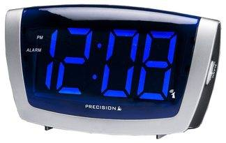 PREC0072 Extra Large Display radio controlled LED alarm clock