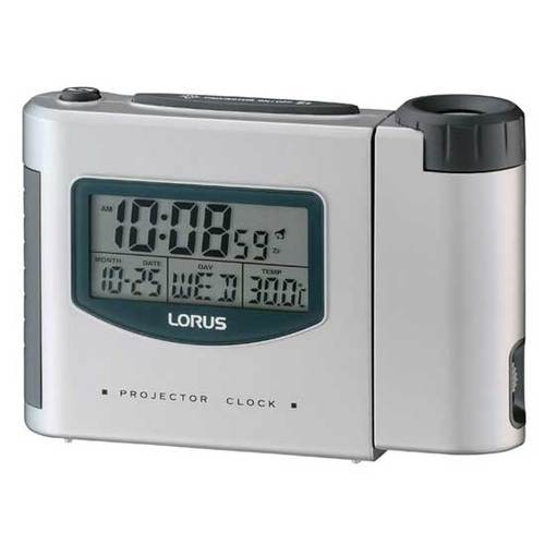 Lorus LHL025S Projection Alarm Clock