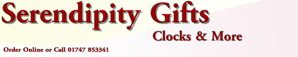 Serendipity Gifts, site logo.