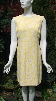 Yellow 1960s Shift Dress