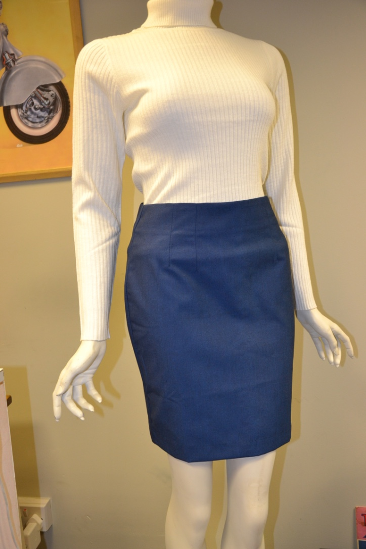 Blue Tonic Skirt