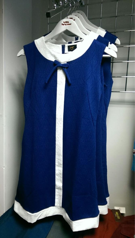 Blue Shift Dress