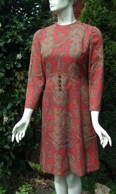 Original 60s Paisley Dress
