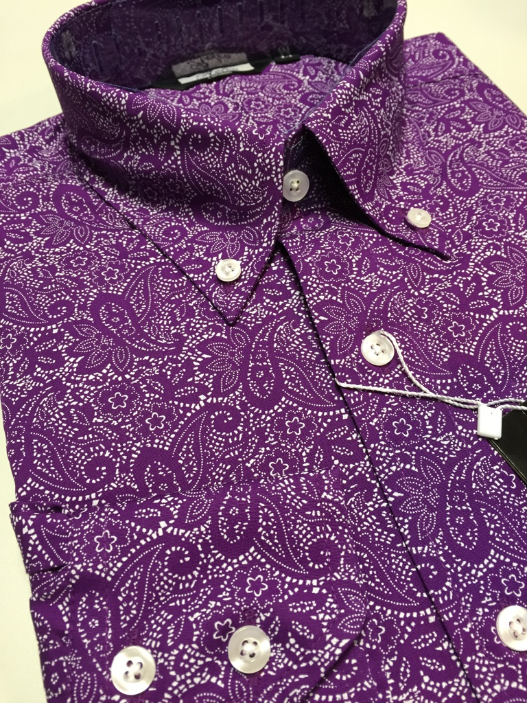 Paisley Shirt Mens