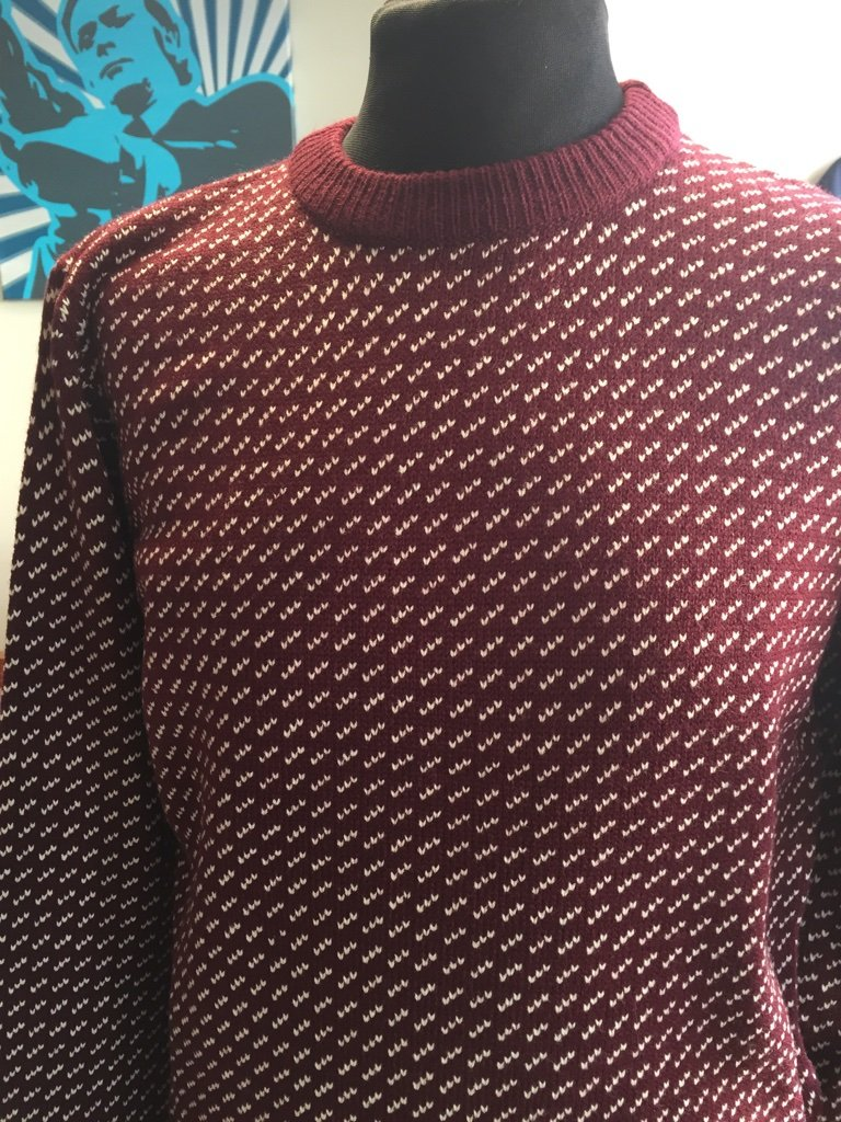 Burgundy Outdoor Jumper