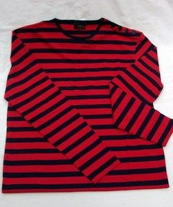 POP Breton Red & Blue Stripe