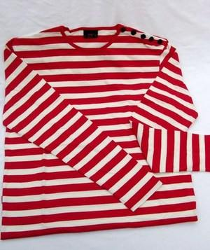 POP Breton red & white