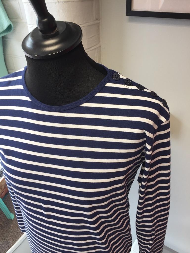 POP Blue & White Breton T-Shirt
