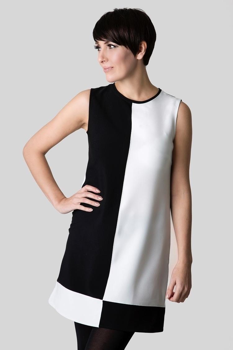Mod style shift dress