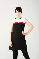 Mod style shift dress