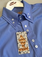 Blue Double Collar 'Beatles' Shirt