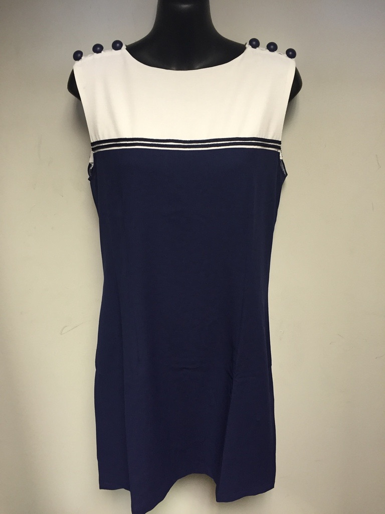 Blue Shift Dress