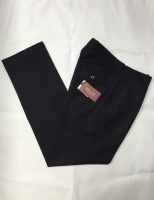 Black Sta Prest Trousers