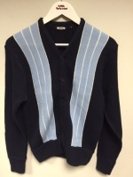 Blue Stripe Cardigan