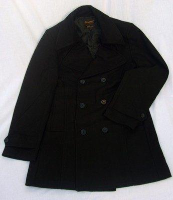 POP Mens Pea Coat
