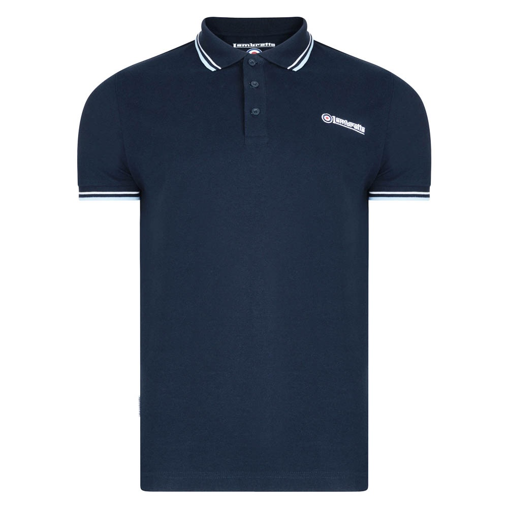 Lambretta Navy Polo