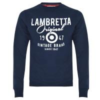 Lambretta Navy Sweatshirt