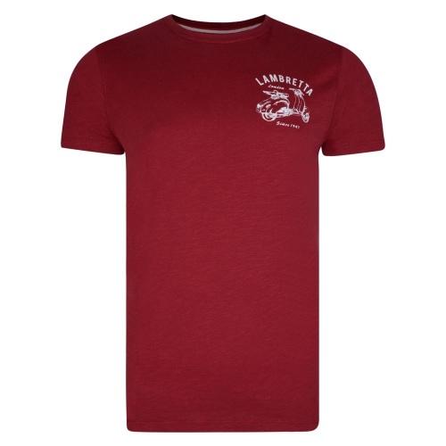 Lambretta Back Print T-Shirt