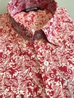 Red Paisley Shirt