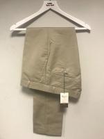 Khaki Sta Prest Trousers