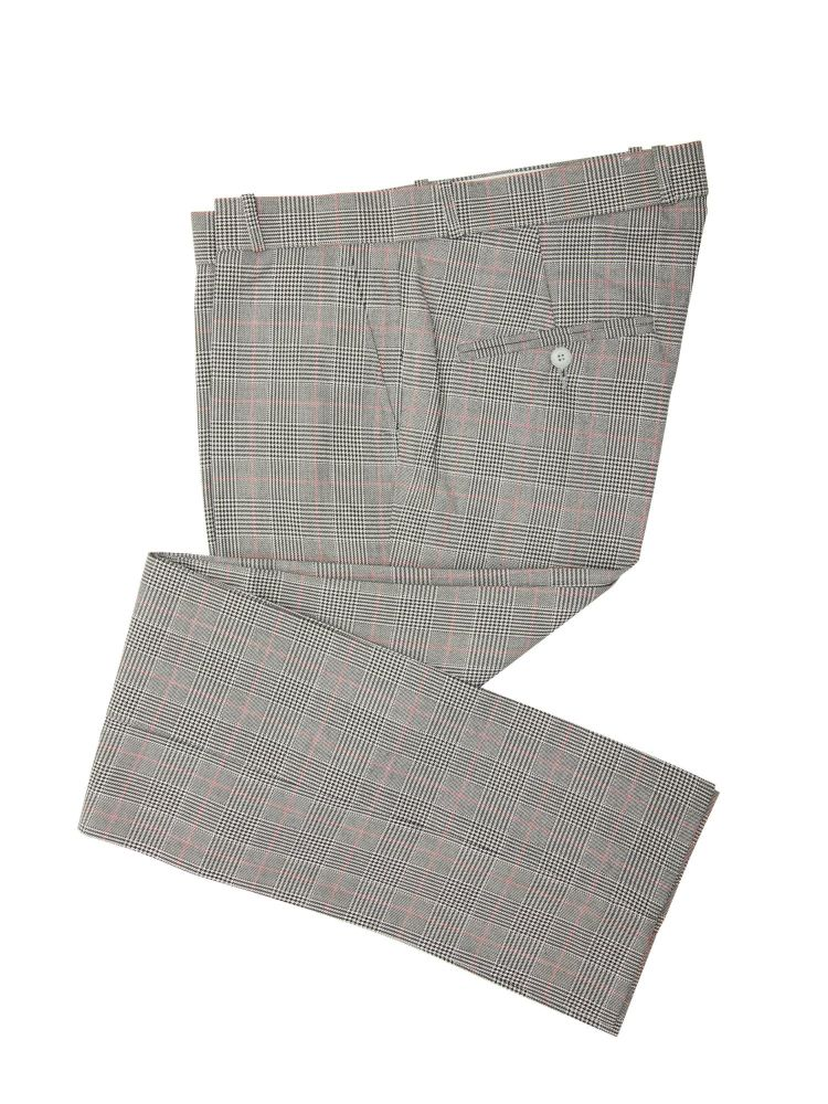 Prince of Wales Sta Prest Trousers