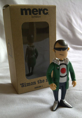 Merc Figurine 'Simon The Mod'
