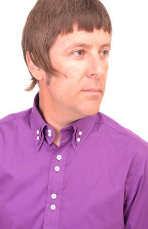 Purple Double Collar Shirt CU