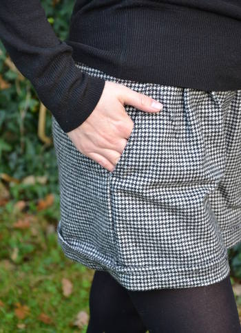 Dogtooth Shorts Pocket
