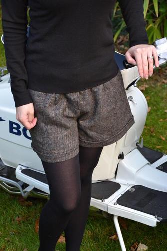 Herringbone Shorts CU
