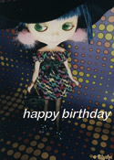 Blythe Birthday Card