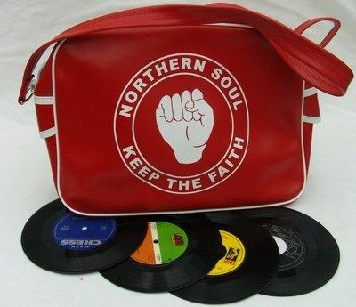 Northern Soul Red Airline Bag