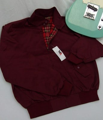 Warrior Burgundy Harrington