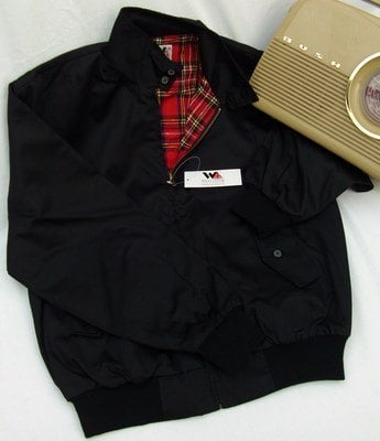 Warrior Black Harrington