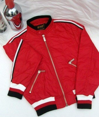 POP Red Racing Jacket