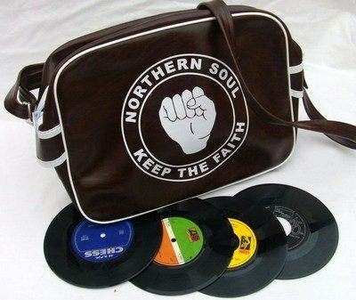 Northern Soul Brown Airline Bag