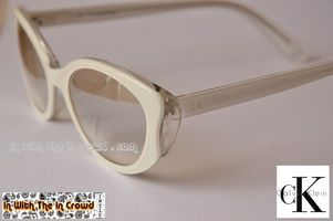 Calvin Klein Sunglasses Front Side Logos
