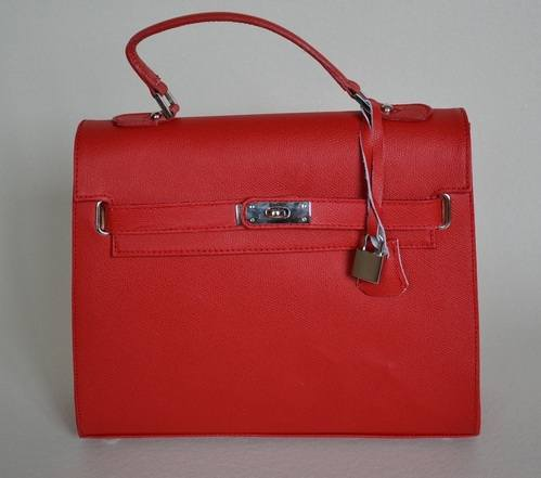 Red Anna Bag Front