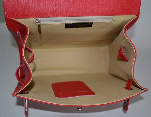 Red Anna Bag Inside