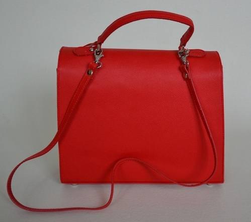 Red Anna Bag Back