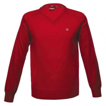 Merc Red Knitwear Jumper